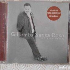 CDs de Música: GILBERTO SANTA ROSA. EXPRESION. COMPACTO CON 13 CANCIONES.. Lote 172045634