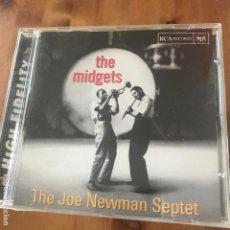 CDs de Música: JOE NEWMAN SEPTET - THE MIDGETS (1956) - CD RCA 1998. Lote 172054145