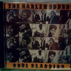 CDs de Música: THE HARLEM SOUND: SOUL CLASSICS - CD . Lote 172071353
