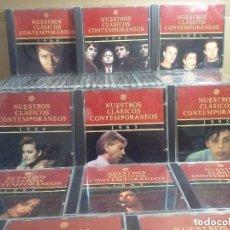 CDs de Música: NUESTROS CLÁSICOS CONTEMPORÁNEOS (1946-1995).LOTE. COLECCIÓN COMPLETA DE 50 CD´S NUESTROS CLÁSICOS . Lote 172072414