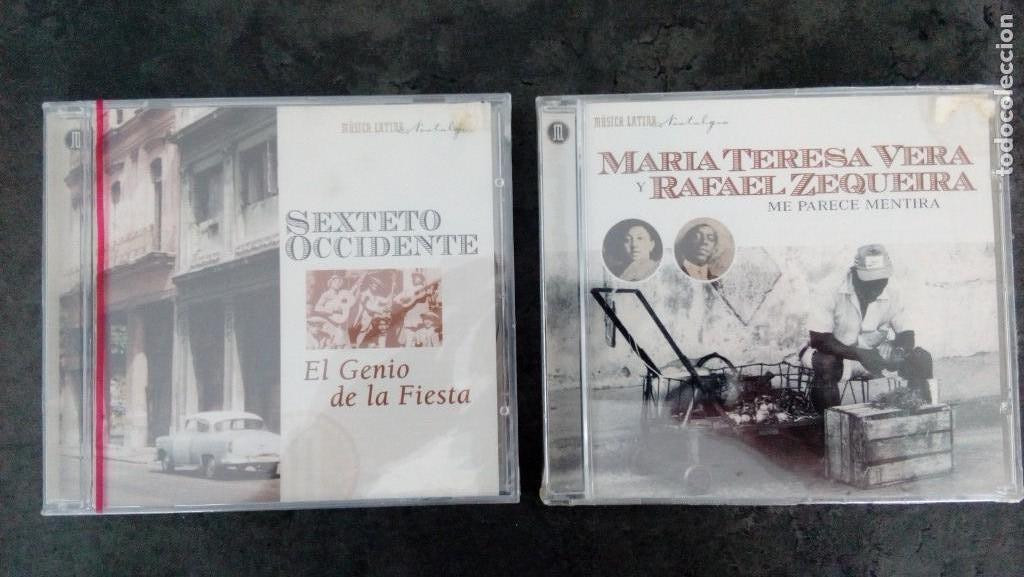MARÍA TERESA VERA + SEXTETO OCCIDENTE: 'ME PARECE MENTIRA' + 'EL GENIO DE LA FIESTA' (CD'S) (Música - CD's Otros Estilos)