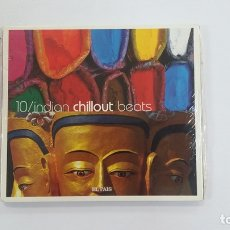 CDs de Música: 10 INDIAN CHILLOUT BEATS. COLECCION EL PAIS. CD. TDKV36. Lote 172092347