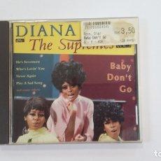 CDs de Música: DIANA ROSS. THE SUPREMES. VOL. VOLUMEN 3. CD. TDKV36. Lote 172093405