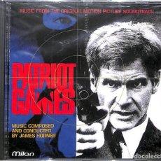 CDs de Música: CD PATRIOT GAMES/ JUEGO DE PATRIOTAS BANDA SONORA - NUEVO. Lote 172094407