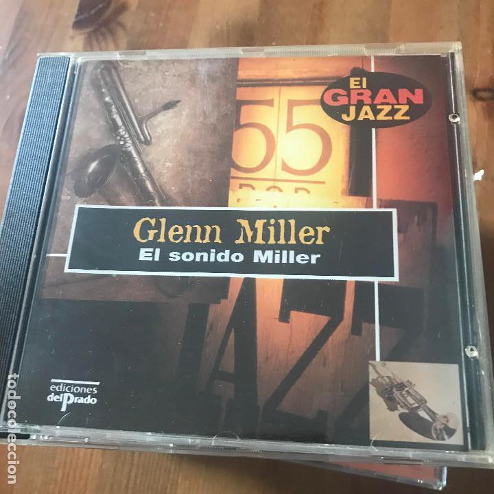 GLENN MILLER - EL SONIDO MILLER - CD EL GRAN JAZZ - ED. DEL PRADO 1995 (Música - CD's Jazz, Blues, Soul y Gospel)