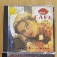 CDs de Música: LOTE B.S.O. TELENOVELA - CAFE CON AROMA DE MUJER (MARGARITA ROSA DE FRANCISCO) VOL. 1 Y 2. Lote 172102734