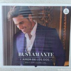 CDs de Música: 1B DAVID BUSTAMANTECD+DVD AMOR DE LOS DOS EDICIÓN ESPECIAL NUEVO Y PRECINTADO + 5€ ENVIO C.NACIONAL. Lote 277658388
