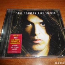 CDs de Música: PAUL STANLEY LIVE TO WIN CD ALBUM DEL AÑO 2006 EU KISS CONTIENE 10 TEMAS MUY RARO HEAVY METAL. Lote 172107247