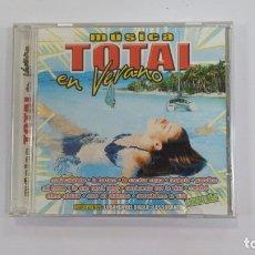 CDs de Música: MUSICA TOTAL EN VERANO. CD. TDKV36. Lote 172116877