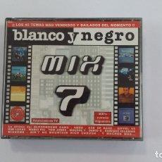 CDs de Música: BLANCO Y NEGRO - MIX 7. TRIPLE CD. TDKV36. Lote 172116925
