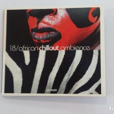 CDs de Música: AFRICAN CHILLOUT AMBIENCE. Nº 18 COLECCIÓN MÚSICA CHILLOUT EL PAÍS. CD. TDKV36. Lote 172117218