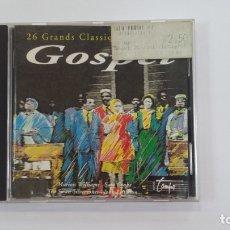 CDs de Música: 26 GRANDS CLASSIQUES DU GOSPEL. CD. TDKV36. Lote 172117298