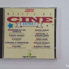 CDs de Música: MUSICA DE CINE - EXTRA I - CD. TIEMPO CAJA MADRID. TDKV36. Lote 172117460