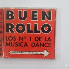CDs de Música: BUEN ROLLO LOS N° 1 DE LA MÚSICA DANCE. CD. TDKV36. Lote 172117547