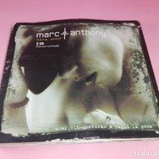 CDs de Música: CD(DOBLE)-MARC ANTHONY-GIRA 2007-EDICIÓN LIMITADA-SONY-AMAR LIBREMENTE & VALIÓ LA PENA-VER FOTOS. Lote 172120027