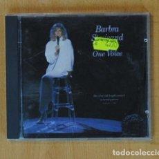 CDs de Música: BARBRA STREISAND - ONE VOICE - CD. Lote 172132605