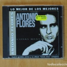 CDs de Música: ANTONIO FLORES - COSAS MIAS - CD. Lote 172133219