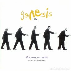 CDs de Música: GENESIS - LIVE / THE WAY WE WALK (VOLUME ONE: THE SHORTS). Lote 172140673