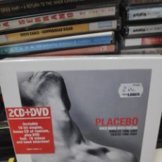 CDs de Música: ONCE MORE WITH FEELING PLACEBO WAS MORE WITH FEELING 2CD + DVD. Lote 172140755