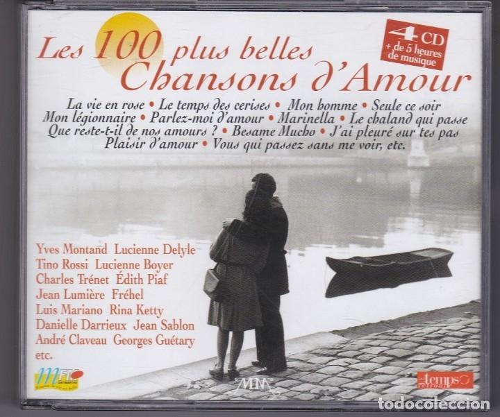 Les 100 Plus Belles Chansons Damour 4xcd Compilation