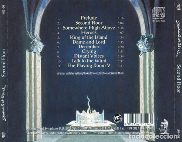 CDs de Música: SHADOWS OF STEEL - SECOND FLOOR - Foto 2 - 172165558