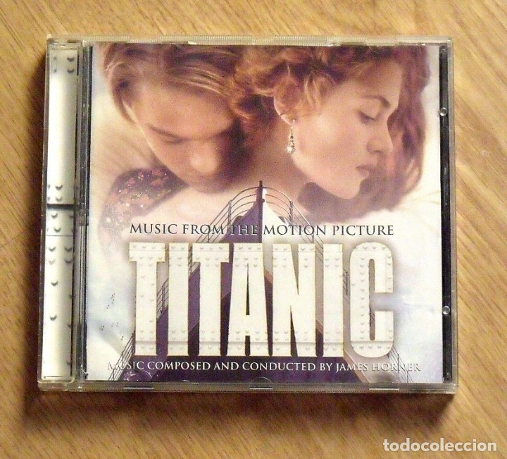 TITANIC. MUSIC FORM THE MOTION PICTURE. MUSIC COMPOSED AND CONDUCTED BY JAMES HORNER. SONY. 1997. (Música - CD's Pop)