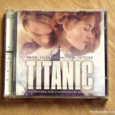 CDs de Música: TITANIC. MUSIC FORM THE MOTION PICTURE. MUSIC COMPOSED AND CONDUCTED BY JAMES HORNER. SONY. 1997.. Lote 172167207