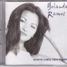 CDs de Música: YOLANDA RAMOS,SABANITAS BLANCAS,PINZAS DE MAERA DEL 2000. Lote 172180215