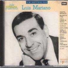 CDs de Música: LUIS MARIANO - LO MEJOR DE... VIDA COTIDIANA Y CANCIONES / CD DE 1990 RF-2456 , BUEN ESTADO. Lote 172192368