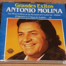 CDs de Música: ANTONIO MOLINA / GRANDES ÉXITOS / CD - PERFIL - 1989 / 20 TEMAS / PRECINTADO.. Lote 172231755