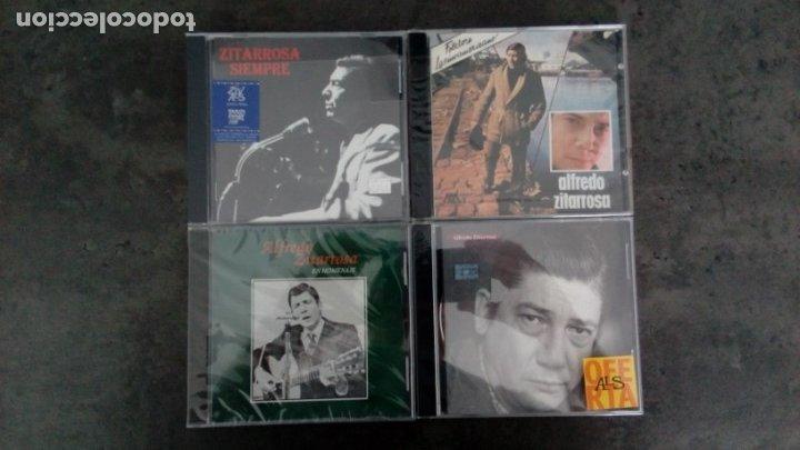 ALFREDO ZITARROSA. 'ZITARROSA SIEMPRE' + 'ALFREDO ZITARROSA' + 'EN HOMENAJE' + A. ZITARROSA (ANTOL.) (Música - CD's Otros Estilos)