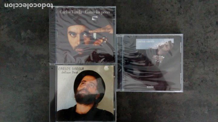 CARLOS VARELA (CUBA): 'SIETE' + 'JALISCO PARK' + 'COMO LOS PECES'(CD'S) (Música - CD's Otros Estilos)