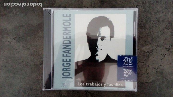 JORGE FANDERMOLE: 'LOS TRABAJOS Y LOS DÍAS' (CD) (Música - CD's Otros Estilos)
