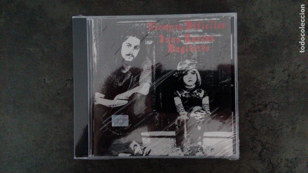 JUAN CARLOS BAGLIETTO: 'TIEMPOS DIFÍCILES' (CD) (Música - CD's Otros Estilos)