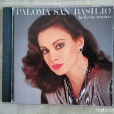 CDs de Música: PALOMA SAN BASILIO LA FIESTA TERMINO CD. Lote 172243610