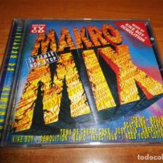 CDs de Música: MAKRO MIX CD ALBUM 1995 KU MINERVA KIKA N.TRANCE SCAT BAND ALEX GARCIA BER JUST LUIS 31 TEMAS. Lote 194275633