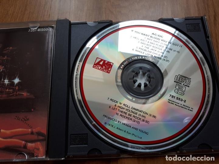 CDs de Música: AC/DC - If you want blood youve got it - 1987 - Foto 2 - 172249544