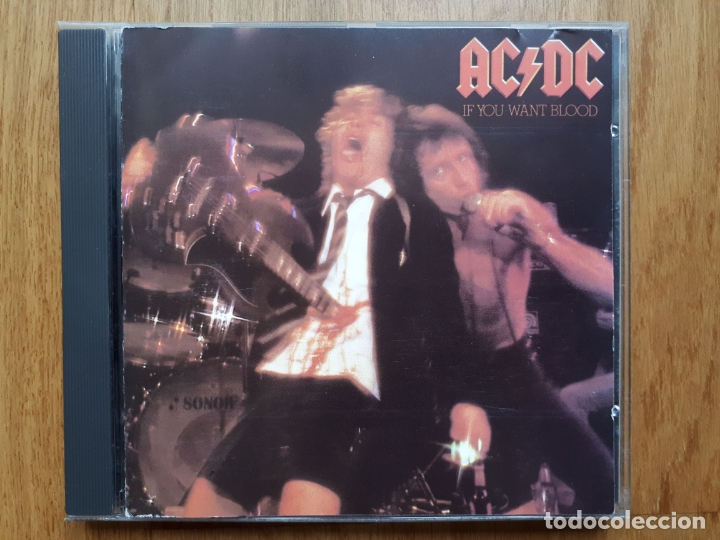 AC/DC - IF YOU WANT BLOOD YOU'VE GOT IT - 1987 (Música - CD's Heavy Metal)
