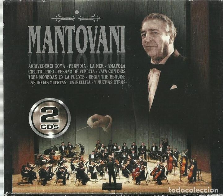 MANTOVANI 2 CD´S (Música - CD's Melódica )