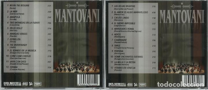 CDs de Música: Mantovani 2 CD´S - Foto 3 - 172268449