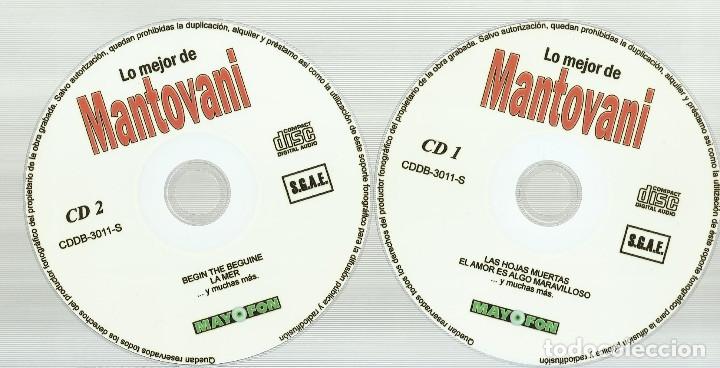 CDs de Música: Mantovani 2 CD´S - Foto 4 - 172268449
