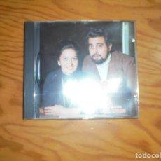 CDs de Música: LA DOLOROSA / LOS CLAVELES. PLACIDO DOMINGO- TERESA BERGANZA. ALHAMBRA, 1987. CD. IMPECABLE (#). Lote 172271970