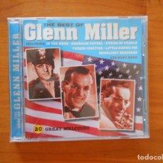 CDs de Música: CD THE BEST OF GLENN MILLER (DU). Lote 172278445