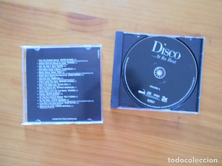 CDs de Música: CD DISCO AT ITS BEST - VOLUME 2 (3B) - Foto 2 - 172279632