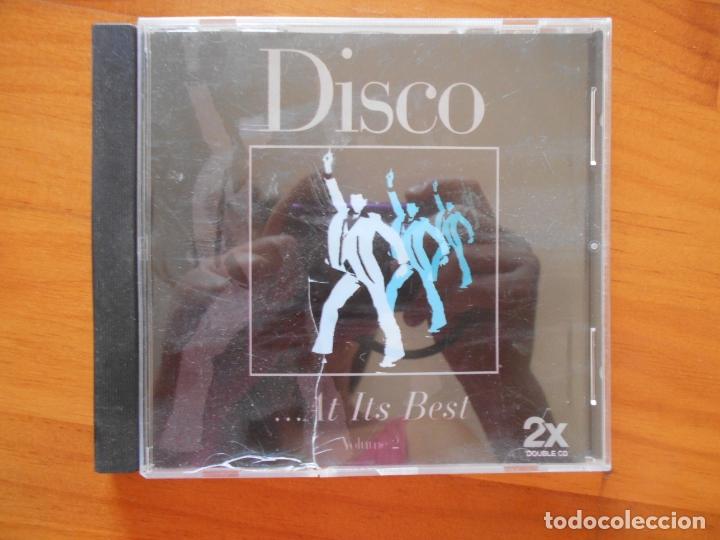 CD DISCO AT ITS BEST - VOLUME 2 (3B) (Música - CD's Disco y Dance)