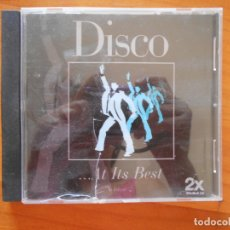 CDs de Música: CD DISCO AT ITS BEST - VOLUME 2 (3B). Lote 172279632
