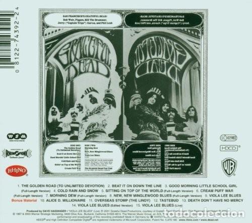 CDs de Música: The Grateful Dead (+ 6 Tema Bonus Track) - CD digipack - Foto 2 - 172287818