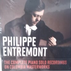 CDs de Música: PHILIPPE ENTREMONT THE COMPLETE PIANO 34 CDS. Lote 172294083