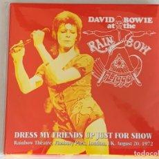 CDs de Música: DAVID BOWIE - DRESS MY FRIENDS UP JUST FOR SHOW - 2 CD, LONDON 1972. Lote 172296855