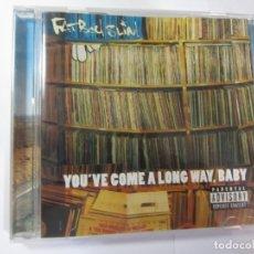 CDs de Música: CD FAT BOY SLIM YOU'VE COME A LONG WAY,BABY. Lote 172302277